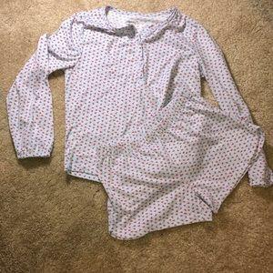 Girls Gap pajama set